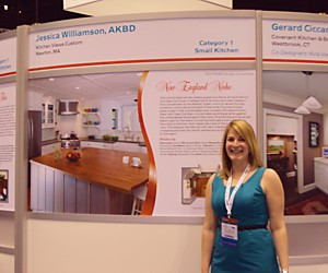 KBIS Jessica Williamson NKBA 2nd place winner - 2010-04-16