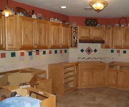 Kitchen Remodeling in Progress