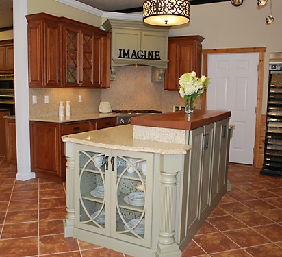 Kitchen Views Warwick, RI - Omega Mullion Doors Display