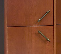 Oil Rubbed Bronze Pulls from Top Knobs