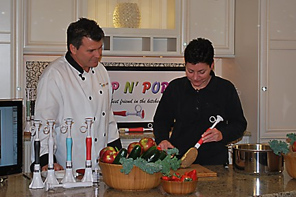 Prep N' Pop Demo with Maria Fratiello of National Lumber