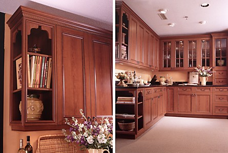 John Allen Coping With An Uneven Ceiling When Crown Moulding And Cabinets Kitchen Views Blog