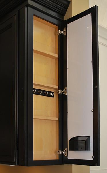 Schrock Mini Message Center Cabinet at Kitchen Views, Warwick, RI