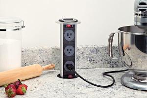 Mockett Kitchen Power Grommet