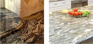 Two examples of Granite countertops