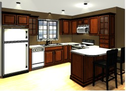 u-shape-kitchen-layout