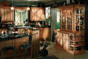 Birch Kitchen Cabinets from KraftMaid