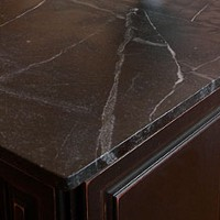 Marble Countertop on Kitchen Island