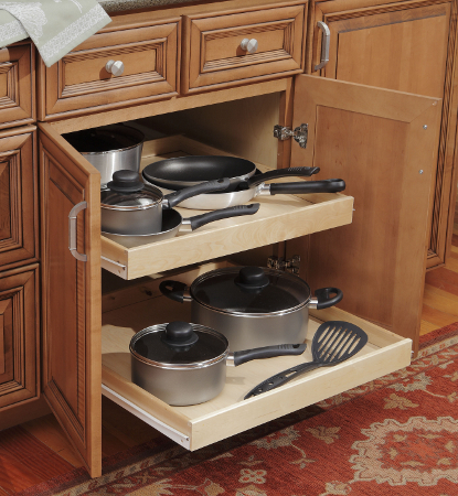 Kitchen Cabinet Roll Out Trays Kitchen Views Blog