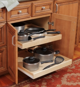Base Cabinet with Roll Out Trays