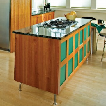 Natural Cherry Cabinets from Corsi