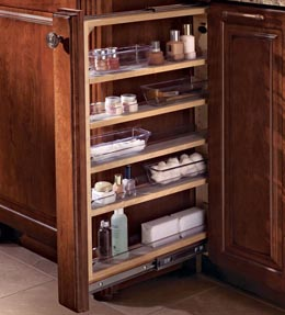 KraftMaid Cabinets Vanity Filler Pull-out