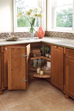 Charming Storage Solutions For The Bath From KraftMaid Cabinets | Kitchen Viewsu0027 Blog