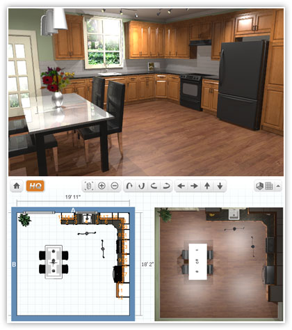 Small kitchen design ideas virtual kitchen designer for Virtual kitchen designer