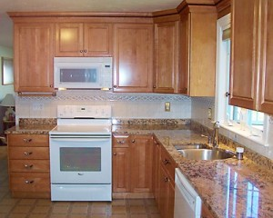 Even a small kitchen can look and work great!