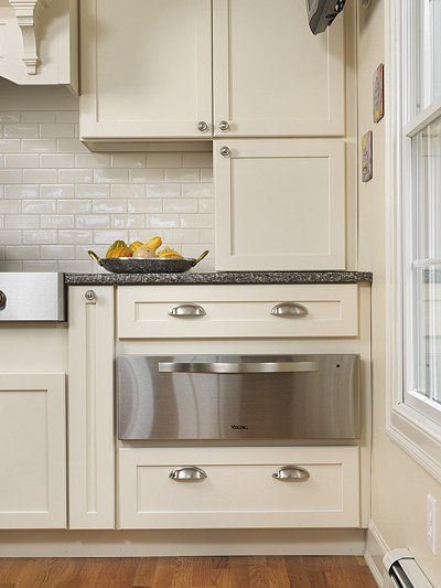 under counter warming draw is great kitchen appliance to include in your kitchen design if you do a lot of entertaining