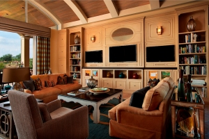 Irpina transitional entertainment center