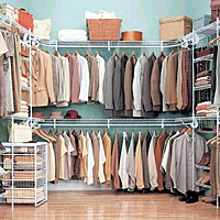 ventilated shelving unit for storage and organization