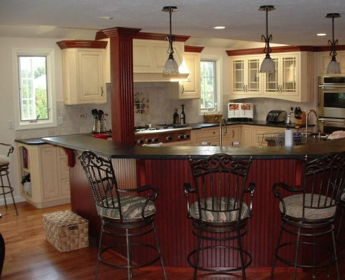 Function is the new fashion in this open kitchen design