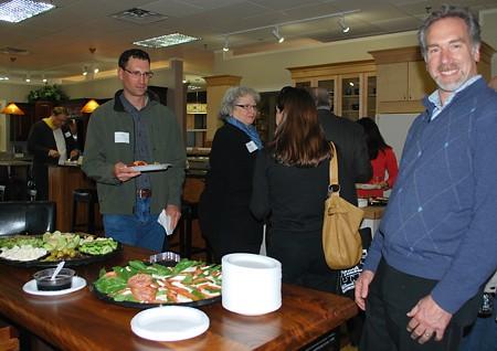 Steven Kaitz, owner of National Lumber at the EM NARI Networking Event