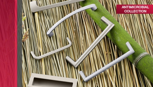 Häfele Antimicrobial Collection of decorative hardware