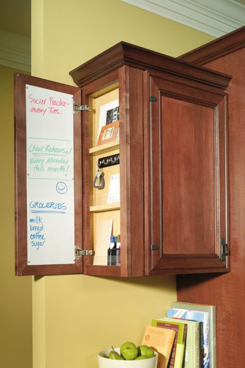 Schrock Wall Message Center Cabinet