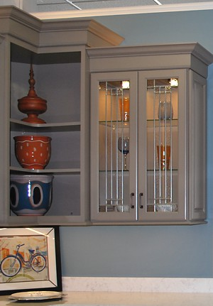 display-cabinets-open-corner-shelves-next-to-glass-doors