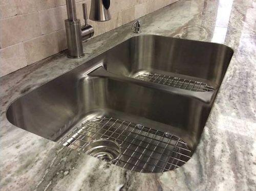 Top Zero stainless steel, seamless, rimless sinks